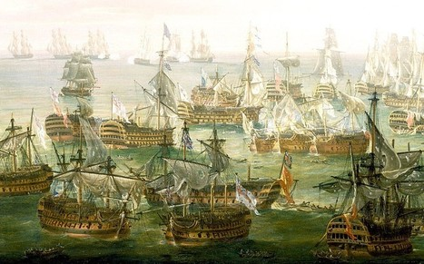 Frenchmen and landlubbers: the battlers of Trafalgar | historian: science and earth | Scoop.it