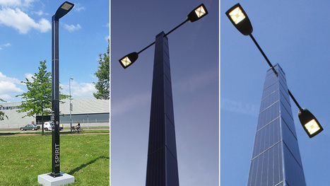 Self-Contained Solar-Powered Streetlights Stay Completely Off the Grid | ProNewTech S.A. | Scoop.it