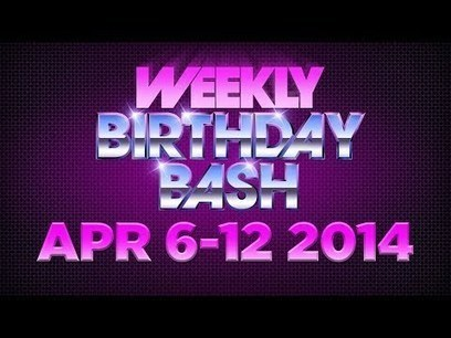 Celebrity Actor Birthdays - April 6-12, 2014 HD | Marketing | Scoop.it