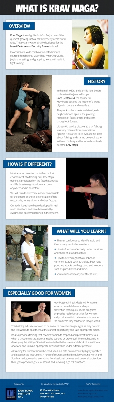 Krav Maga for women-empower women [infographic] | Adult Martial Arts | Scoop.it