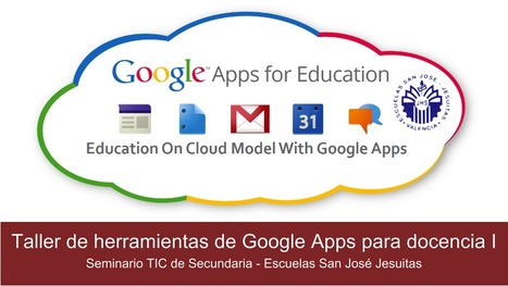 enRedados en el aula - Proyecto RET: Taller de herramientas de Google Apps para docencia   google + y google apps   Scoop.it