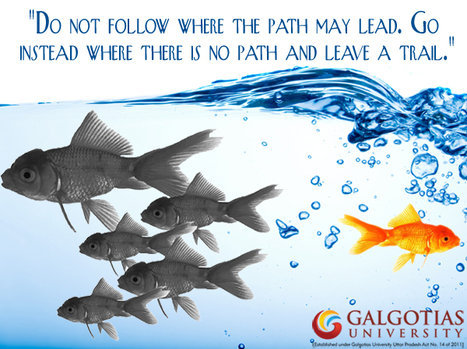 Galgotias University encourage its each and every student to do something new and excel in their field, leaving behind those in the crowd. | Galgotias University | Scoop.it