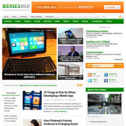 Resizable WordPress Theme Nulled   All Free Stuff   Scoop.it