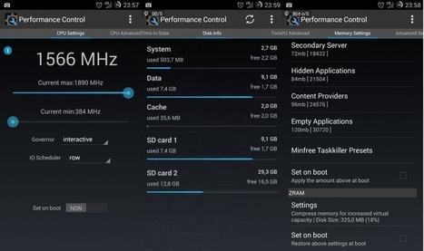 Performance control : L'application android de la semaine | Le blog de Wilfried Caruel | Actualités de l'open source | Scoop.it