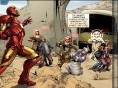 Marvel Teams Up Wit Loud Crow to Create the First Ever Fully Interactive Comic Book App | PadGadget | Bibliotecas Escolares. Disseminação e partilha | Scoop.it