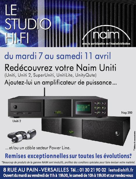 Studio HiFi (Versailles) : doublez la puissance de votre Naim Uniti | ON-TopAudio | Scoop.it