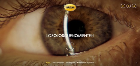 Los ojos no Mienten, storytelling y web en una sencilla mezcla | Seo, Social Media Marketing | Scoop.it