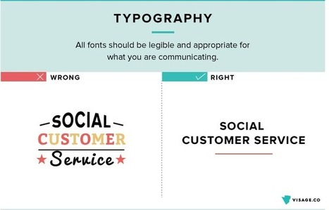 10 tips for designing effective visual communication (Infographic) | Business in a Social Media World | Scoop.it