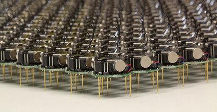 Kilobots - tiny, collaborative robots - are leaving the nest (w/ video) | Advanced Architecture | Scoop.it