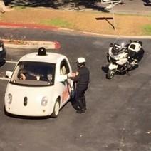 La Police arrête une Google Car ne roulant pas assez vite | Libertés Numériques | Scoop.it