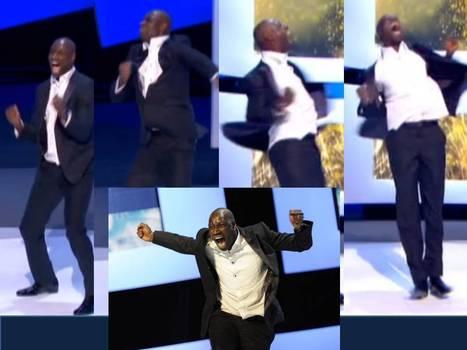 Omar Sy, le sourire et les beaux gestes du premier César | Média des Médias: Radio, TV, Presse & Digital. Actualités Pluri médias. | Scoop.it