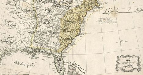 This rare Ottoman atlas contains beautiful maps of the world (Retronaut) | Pixilating the parchment | Scoop.it