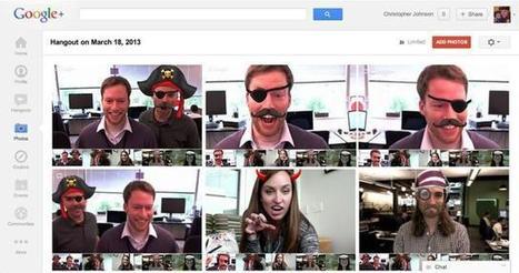 Google+ Hangout reçoit une nouvelle fonction de capture d'écran   Adopter Google+   Scoop.it