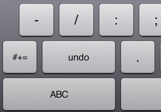 How to Access the Undo and Redo Buttons on the iPad and iPhone | The iPad Guide | Michigan Assistive Technology Program | Scoop.it