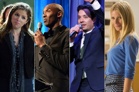 15 Non-Rappers Rapping: James Franco, Gwyneth Paltrow, Jimmy Fallon & More | Titans Music | Scoop.it