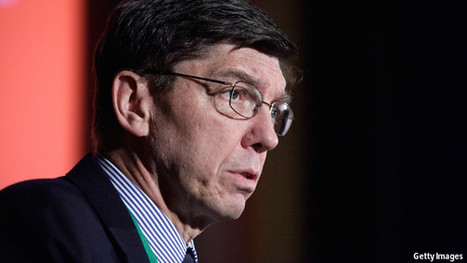 Clayton Christensen: Still disruptive | The Economist | :: The 4th Era :: | Scoop.it