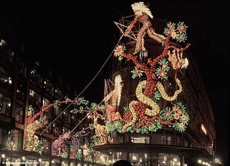 PARIS UNPLUGGED: 1925 - Les grands magasins illuminés | GenealoNet | Scoop.it