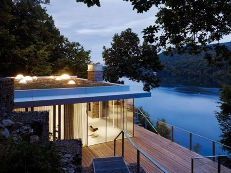 Modern German House Clad in Glass Offers Unabated Lake Views | What Surrounds You | Scoop.it
