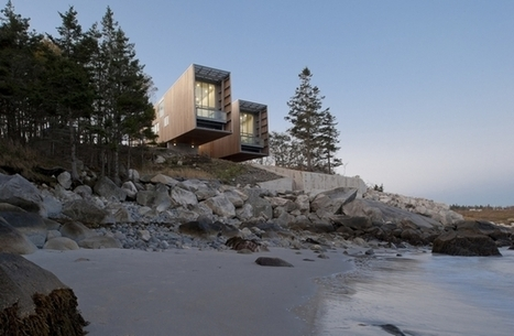 Two Hulls – Monumental Twofold House In Canada | Inspired By Design | Scoop.it
