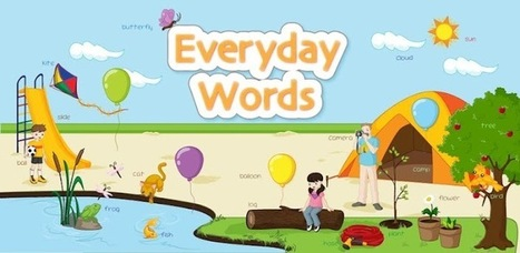 Kids Learn Everyday Words Lite | 2.0 Tools... and ESL | Scoop.it