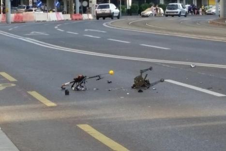 Un drone s'écrase en pleine rue à Plainpalais | Infos Drones | Scoop.it