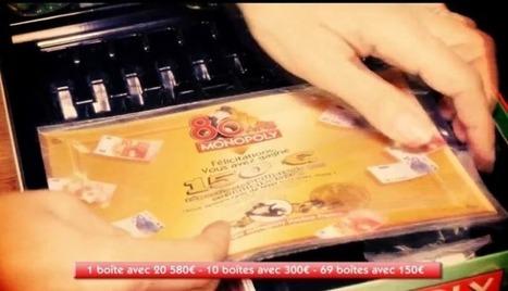 Monopoly cache de vrais billets dans ses boîtes pour ses 80 ans | métiers de l'animation | Scoop.it