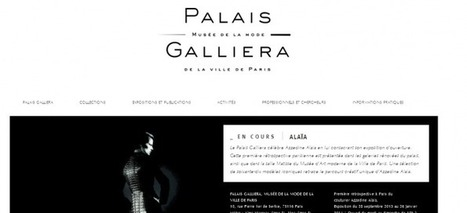 Le Palais Galliera présente également son nouveau look sur la toile | Réinventer les musées | Scoop.it