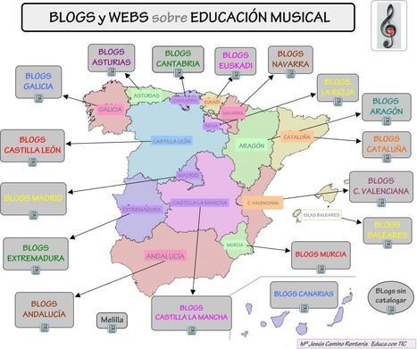Un mundo de Blogs sobre Educación Musical | Nuevas tecnologías aplicadas a la educación | Educa con TIC | EDUDIARI 2.0 DE jluisbloc | Scoop.it