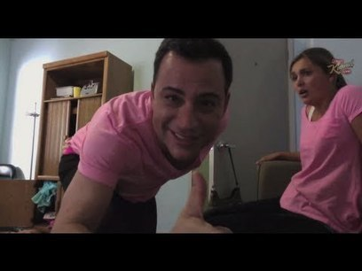 "Jimmy Kimmel Reveals ""Worst Twerk Fail EVER - Girl Catches Fire"" Prank 