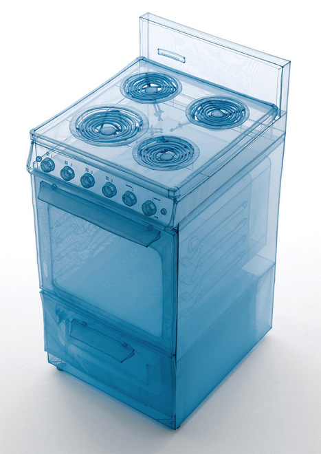 Artist Do-Ho Suh Sculpts Appliances from his Manhattan Apartment out of Polyester | Art, Design & Technology | Scoop.it