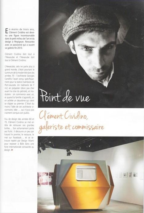 P-O : Le designer perpignanais Clément Cividino voit sa côte médiatique monter, monter… | Ouillade.eu | Revue de Presse Clément Cividino | Scoop.it