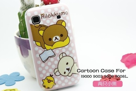 Samsung Galaxy S case with two cuty bear | Apple iPhone and iPad news | Scoop.it