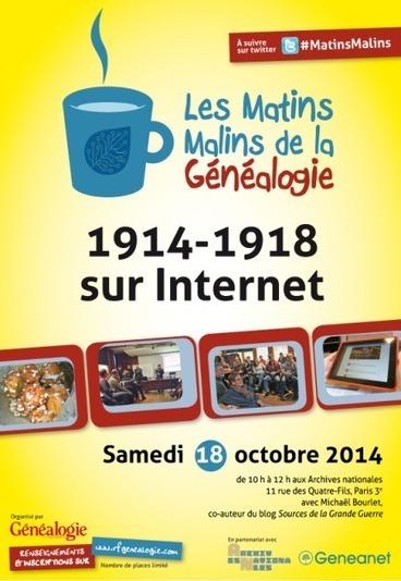 Matins malins : Votre ancêtre Poilu sur Internet | Nos Racines | Scoop.it
