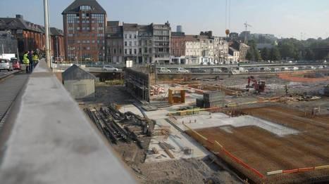 #Charleroi : Première pierre d'un centre logistique d'Infrabel en ville | Charleroi, Même! | Scoop.it