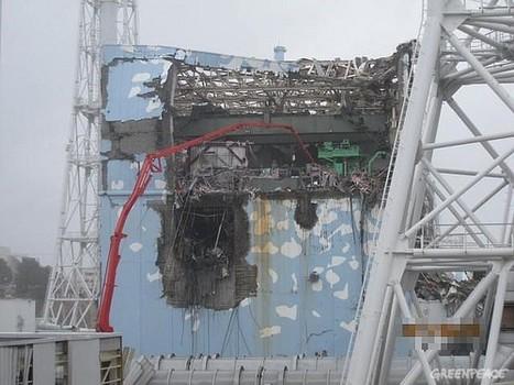 Greenpeace: situation alarmante autour de Fukushima | Japon : séisme, tsunami & conséquences | Scoop.it