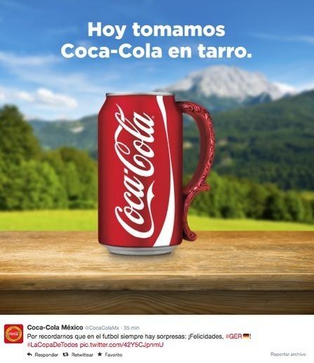 Marcas se aprovechan del encuentro Brasil VS Alemania | Revista Merca2.0 | Seo, Social Media Marketing | Scoop.it