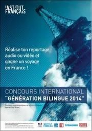 Concours international « Génération bilingue » | Sections bilingues ... | Bilinguisme | Scoop.it