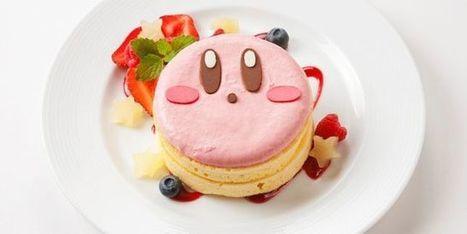 Nintendo inaugure au Japon sa première chaîne de restauration, les Kirby Café | Je mange donc je suis | Scoop.it
