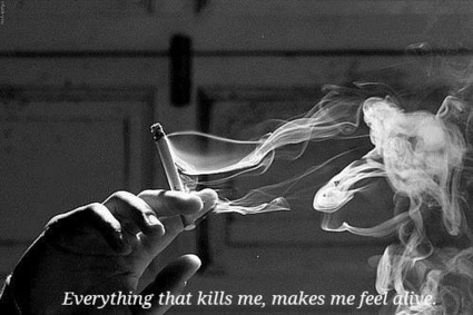 Frolicsome Smoke (Everything that kills me, makes me feel alive) | I love cigarettes | Scoop.it