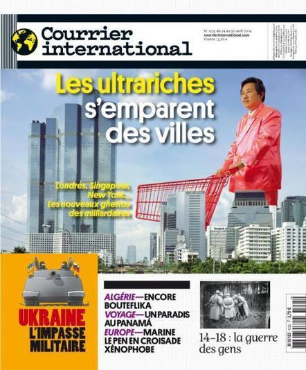 Hebdo n° 1225 du 24 avril 2014 | Courrier international | Le jeu | Scoop.it