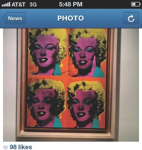 The Gallery, Unfiltered: On the Art World's InstagramObsession | Twitter and the Museum | Scoop.it