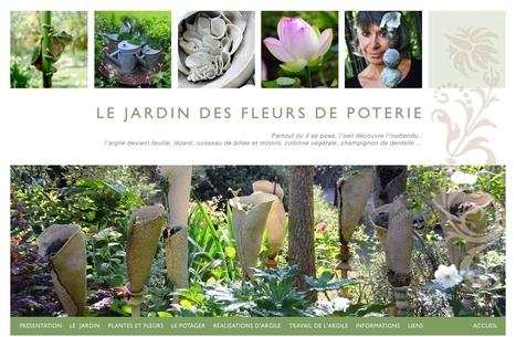 le jardin des fleurs de poterie | The Blog's Revue by OlivierSC | Scoop.it