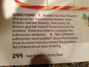 Guess the grade level of this Common Core homework. – @ the ... | Oakland County ELA Common Core | Scoop.it