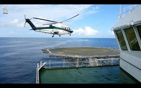 Sikorsky S-76 offshore | Heli Daily | Scoop.it