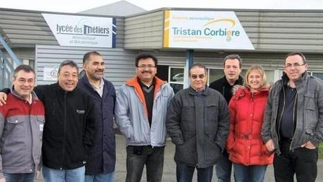 Morlaix : Des enseignants mexicains en stage au lycée Corbière. Info - Brest.maville.com   Part 66   Scoop.it