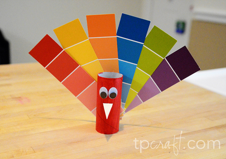 Paint Chip Turkey | Craftspo | Scoop.it