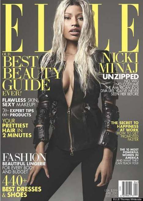 Nicki Minaj Interviews Nicki Minaj For Elle Magazine And Pictures | Runnin With It - Interviews, News, Music & More - Follow @RunninWithIt | Music + Entertainment News | Scoop.it