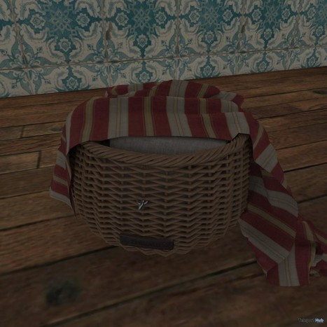 Basket Shiny Shabby March 2015 Group Gift by zerkalo | Teleport Hub - Second Life Freebies | Second Life Freebies | Scoop.it