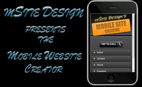 Free Mobile Website Creator | Mobile & Technology | Scoop.it