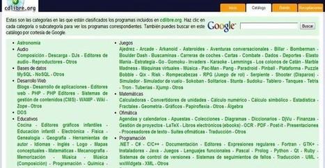 CdLibre, el catálogo de software libre repleto de aplicaciones | educacion-y-ntic | Scoop.it